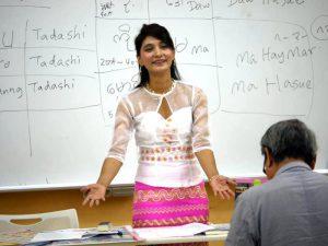 ミャンマー語秋期コースのための体験レッスン(9/12、9/22、9/29)